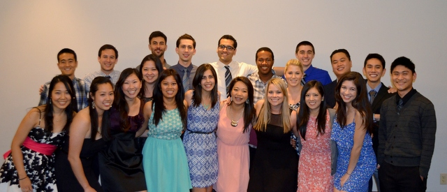 The 2014 Graduates honored at the Alpha Psi ES&L Foundation 2nd Annual Banquet