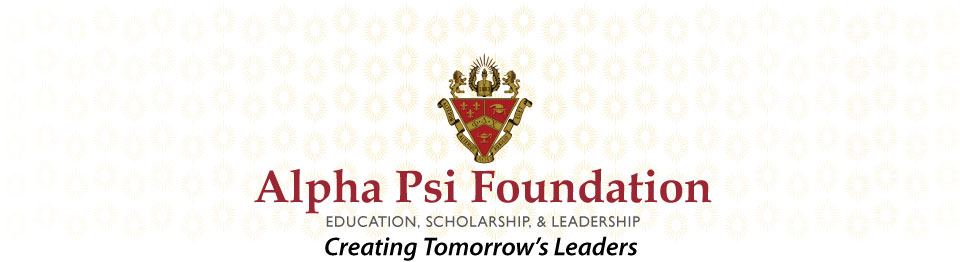 Alpha Psi Foundation | Education Scholarship & Leadership