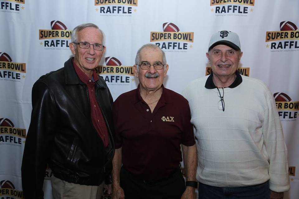 Ed, Ralph and Duane representing Alpha Psi Foundation